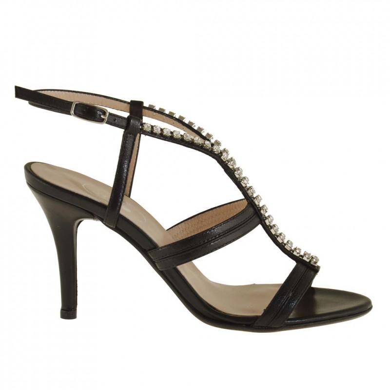 sandale cuir femme talon ladies walking sandals. Black Bedroom Furniture Sets. Home Design Ideas