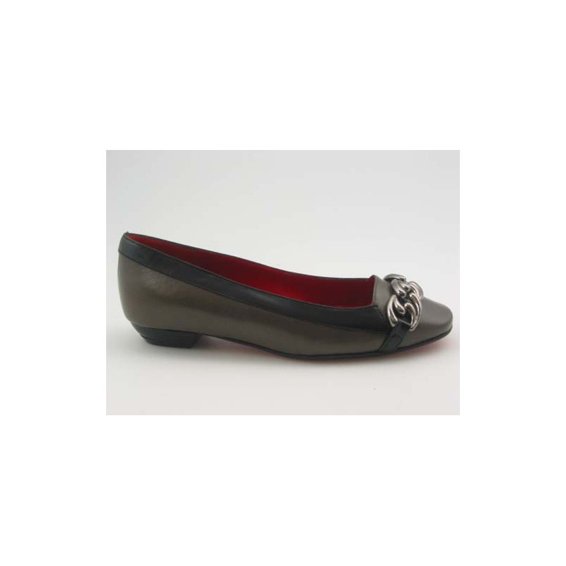 Court-shoe with accessory in mouse - Available sizes: 31