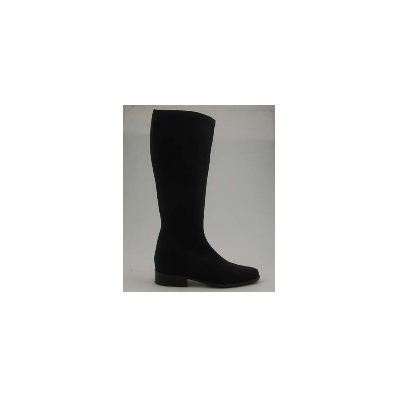 Boot in black elastic fabbric - Available sizes:  31