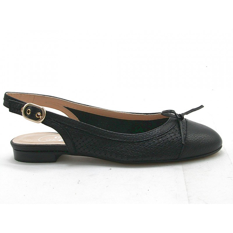 Chanel en cuir noir - Pointures disponibles:  32