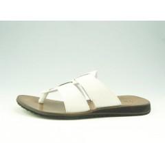 Infradedo para hombre en piel de color blanco - Tallas disponibles:  47