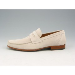 Men's loafer in sandcolored suede  - Available sizes:  37, 38, 39, 40, 41, 43, 44, 45, 50, 52