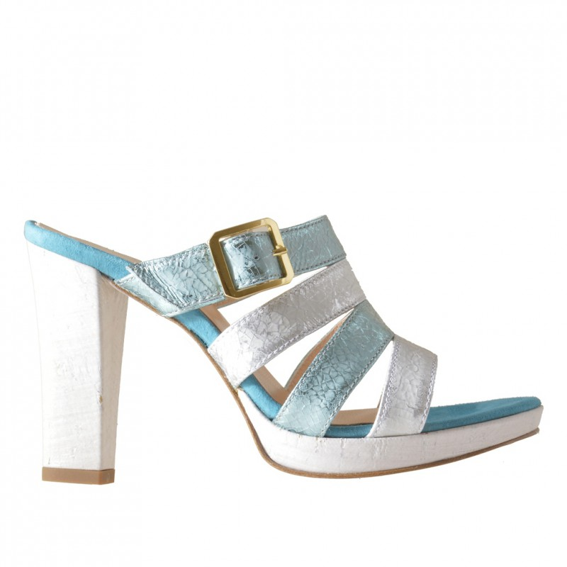 Strips platform mules c - Available sizes:  42