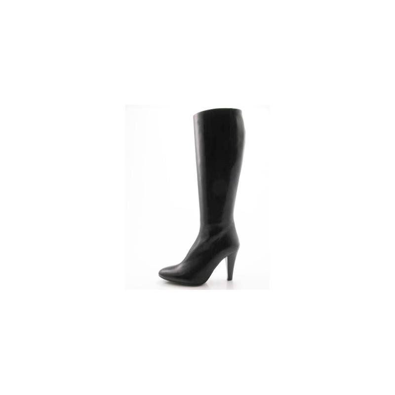 Boot en cuir noir - Pointures disponibles:  32