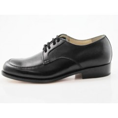 Scarpa stringata in pelle nero - Misure disponibili: 36