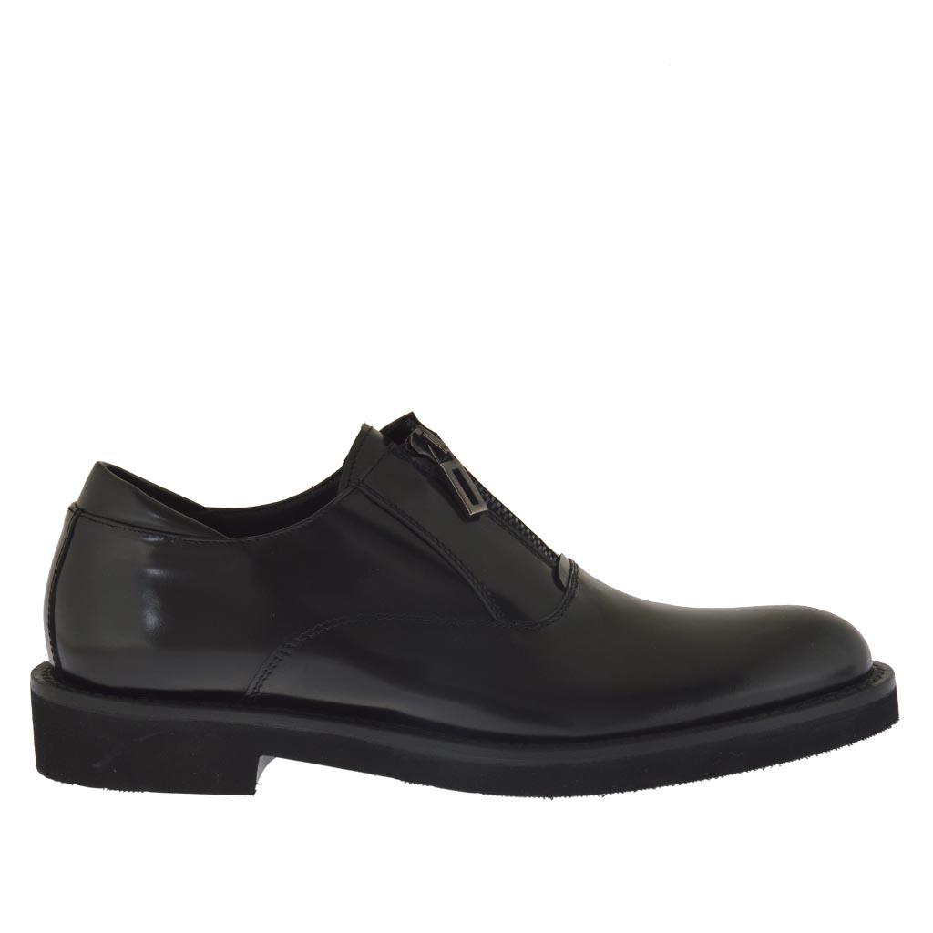 Chaussures à fermeture éclair Hi-Tec noires homme Pas Cher lxpObK
