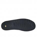 Sandalo da uomo con tre fibbie in pelle nera - Misure disponibili: 47, 48