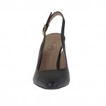 Chanel da donna in pelle nera tacco 9 - Misure disponibili: 31
