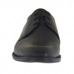 Scarpa elegante e stringata da uomo in pelle nera - Misure disponibili: 50