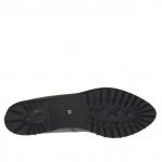 Ballerine pour femmes en cuir noir talon 2 - Pointures disponibles:  32