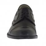 Scarpa da uomo stringata in pelle colore nero - Misure disponibili: 36, 40