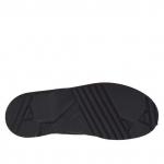 Scarpa stringata da uomo in nabuk colore nero - Misure disponibili: 36, 37, 47