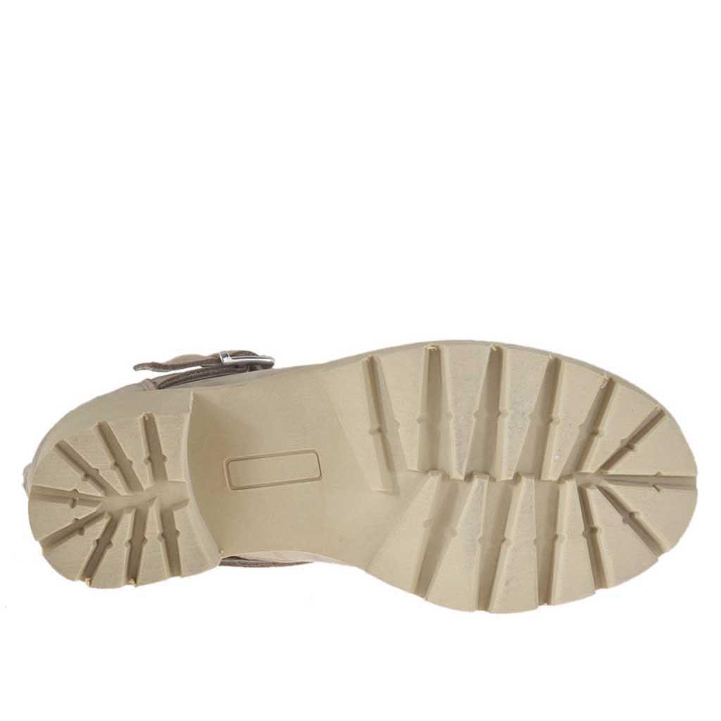 huge discount 3dd8e 201e2 bottines-pour-femmes-avec-fermeture-clair-et-boucle-en-cuir-nubuck-et-cuir-nubuck-perfor-beige-talon-6-3106a013.jpg