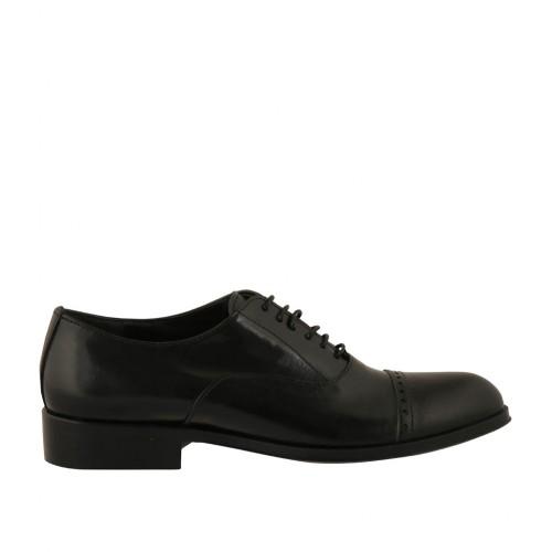 la punta y cordones con oxford hombre para decoraciones en Zapato en x4gpn