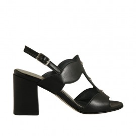 Pelle|Nera|T. 7 - Available sizes:  32, 33, 34, 42, 43, 44, 45